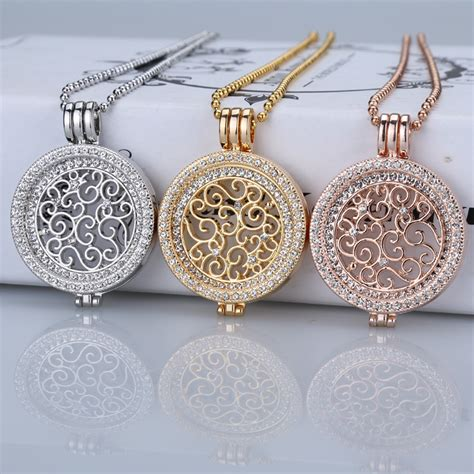 Kalung New Fashion Jewelry Gold Chain Necklace Pendant B 1 xuben 35mm coin necklace sets holder fit my 33mm coin