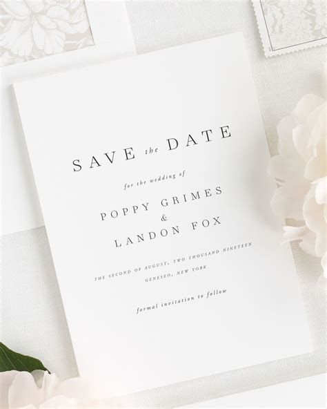 Save The Date And Wedding Invitations purple wedding inspiration wedding invitations