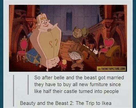 Beauty And The Beast Meme - beauty and the beast memes funny jokes about disney