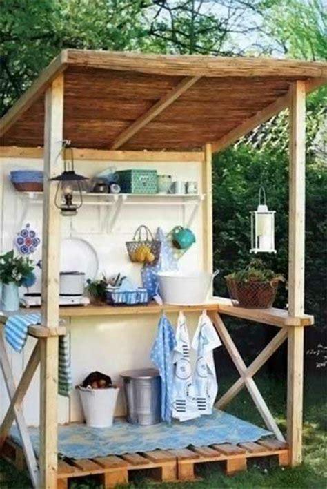 erstaunliche outdoor küchen outdoor paletten k 252 che