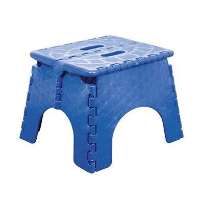 Ez Foldz Stool by B R Plastics 101 6b B R Plastics Ez Foldz Stool Blue 101 6b Rv Plus