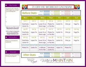21 day fix meal plan template 18 nbd