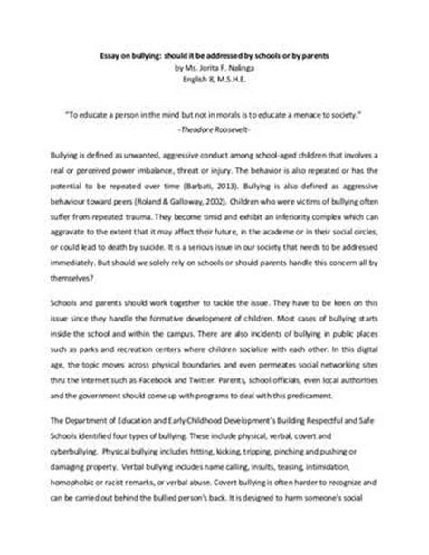 Cause And Effect Essay Papers by Cause And Effect Essay On Bullying Xyz