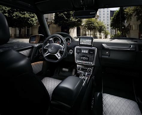 mercedes g class interior 2016 2016 mercedes g class facelift brings amg 4l v8 for