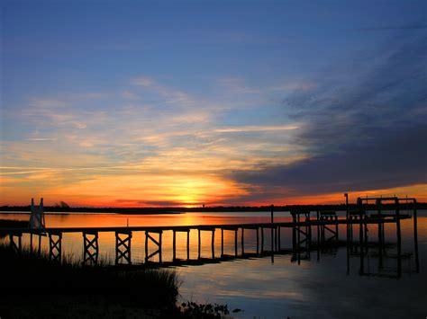 time lapse sunset  atlantic beach nc bluewater nc