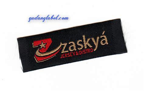 Design Label Murah | woven label murah label baju bandung hp 08562783877