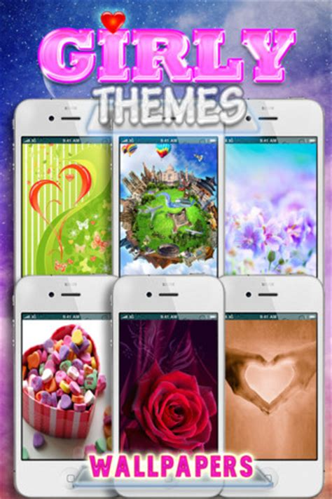 themes ios cute girly themes free app for ipad iphone lifestyle