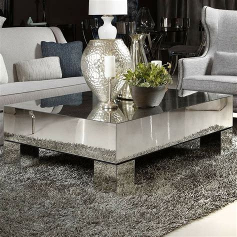 mirror coffee table furniture best 25 mirrored coffee tables ideas on glam