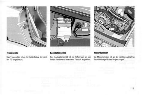 Porsche 964 Aufkleber Kofferraum by Elferclassic Kaufberatung Porsche Klassiker
