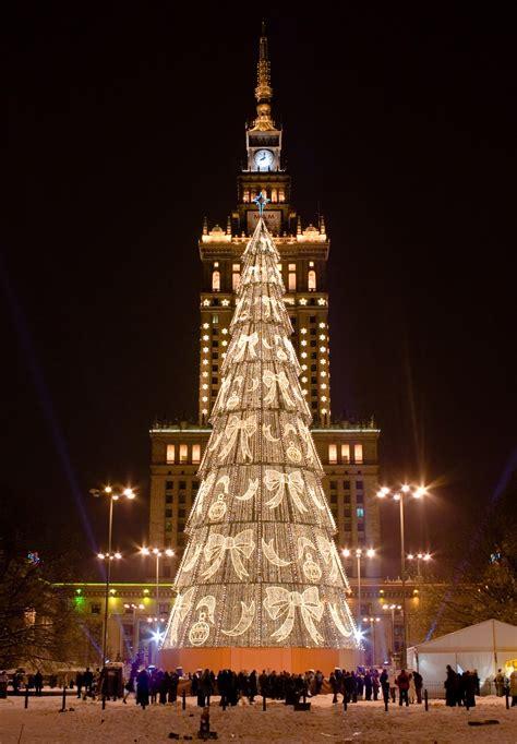 Weihnachten In Polen by Płońsk Poland Trees And Warsaw Poland