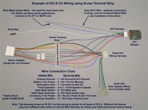 pioneer car stereo wiring harness diagram mechanics corner pinterest pioneer car stereo