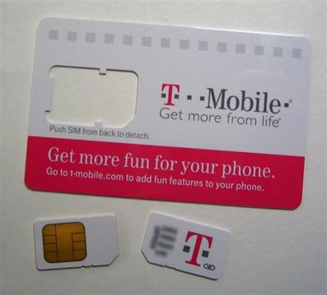 Tmobile Gift Card - t mobile now selling micro sim cards for iphone 4