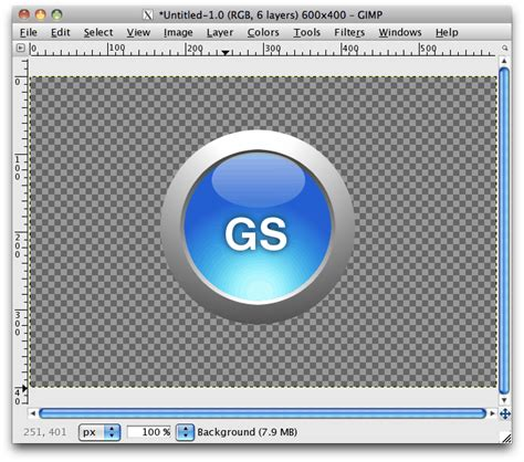 design a logo in gimp gimp logo tutorials tutorial bone yard