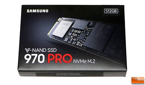 samsung ssd 970 pro nvme 512gb ssd review legit reviewssamsung ssd 970 pro arrives ready for