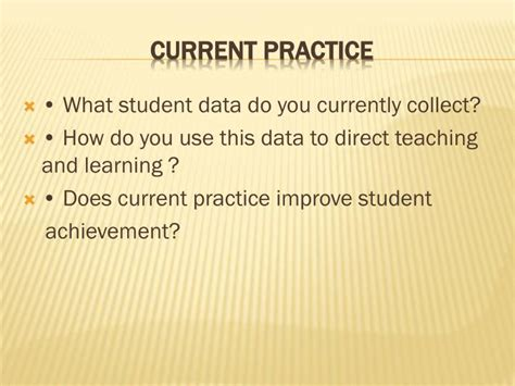 using data to improve student learning in middle school books ppt using data to improve student achievement powerpoint