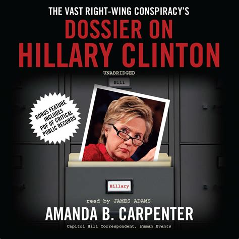 hillary clinton biography audiobook download the vast right wing conspiracy s dossier on