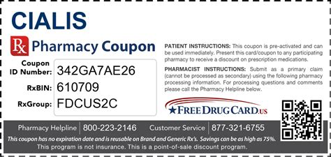 Cialis Free Coupon by Cialis Coupon Free Prescription Savings At Pharmacies Nationwide