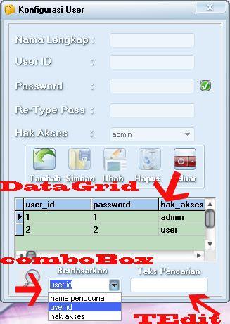 tutorial delphi 7 untuk pemula sai mahir membuat pencarian data super cepat pada delphi 7 mysql
