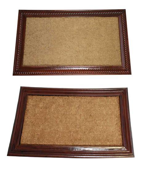 Coir Outdoor Mats by Rosewood Outdoor Scraper Mat Heavy Duty Rubber Coir Doormat Wood Effect Border