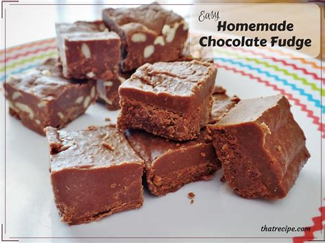 Handmade Fudge - oh so easy chocolate fudge cooks in 5 minutes