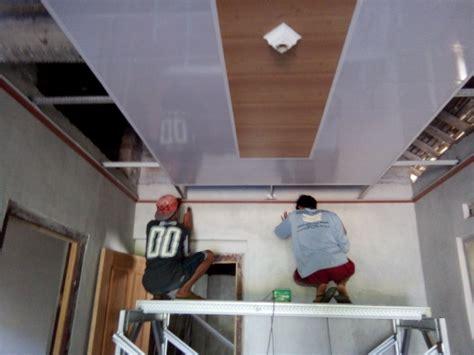 Jasa Pemasangan Plafon Gypsum Pvc gambar desain plafon pvc desain rumah minimalis terbaru