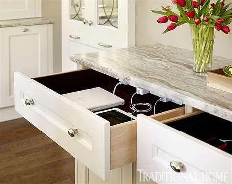 countertop charging station three charging station drawers one for each family