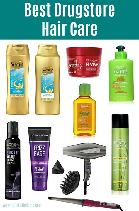 best drugstore hair styling products best drugstore products on a budget hello little home