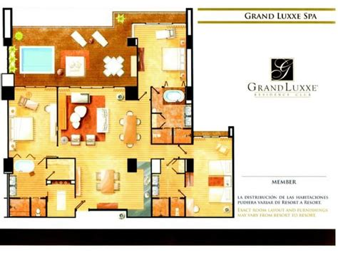 grand luxxe spa tower floor plan spa tower 3 bedroom layout grand luxxe spa tower pinterest