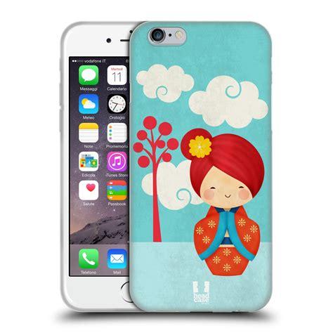 designs japanese doll soft gel for apple