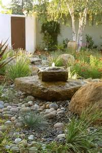 Rock Garden With Water Feature Rock Garden Design Ideas To Create A And Organic Landscape Front Yards Design And