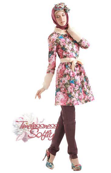 desain baju batik variasi aneka desain baju muslim wanita dengan variasi batik cantik