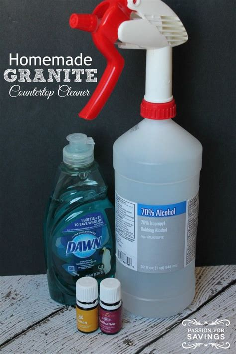 Cleaning Granite Countertops With Vinegar easy granite cleaner try this counter cleaner now for a great alternative
