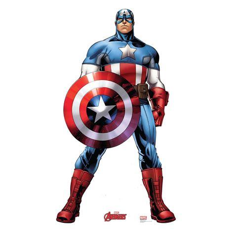 Capitan Estenlis size captain america cardboard standup cardboard cutout