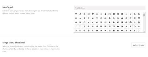 avada theme font awesome using the mega menu theme fusion