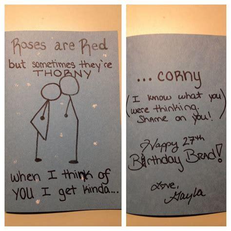 Creations by Gayla: Funny Birthday Card for boyfriend