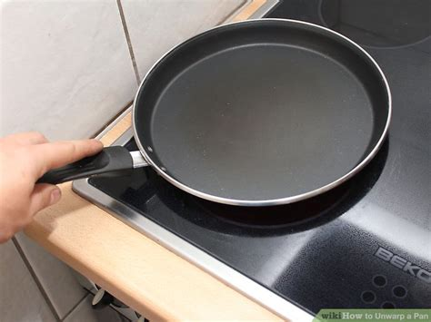 Pan Step Iii how to unwarp a pan 9 steps with pictures wikihow