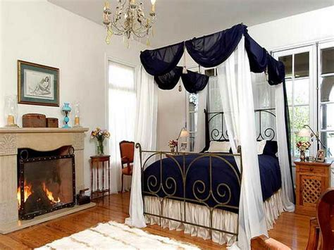 how to decorate canopy bed decoration decorating canopy bed with fireplace