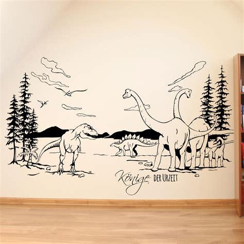 Wandtattoo Kinderzimmer Dinosaurier by Wandtattoo Dinosaurier Reuniecollegenoetsele