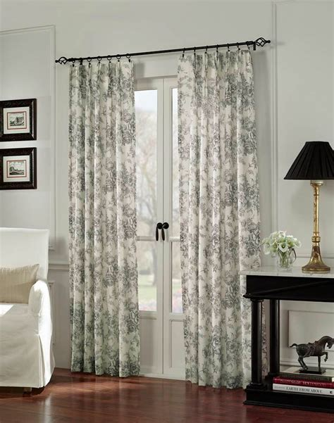 how to hang curtains on french doors french door curtain ideas for your home
