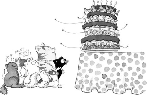 coloring pages bad kitty happy birthday bad kitty nick bruel macmillan