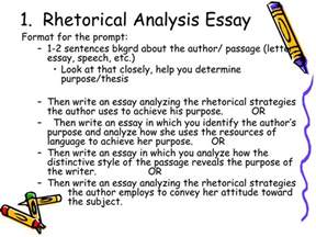 Sles Of Rhetorical Analysis Essays by Ppt Ap Free Response Essay Portion Powerpoint Presentation Id 456399