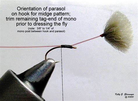 umbrella fly pattern flyanglers online fly of the week