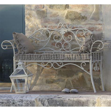 panchine in ferro divanetto provenzale ferro bianco panchine ferro giardino