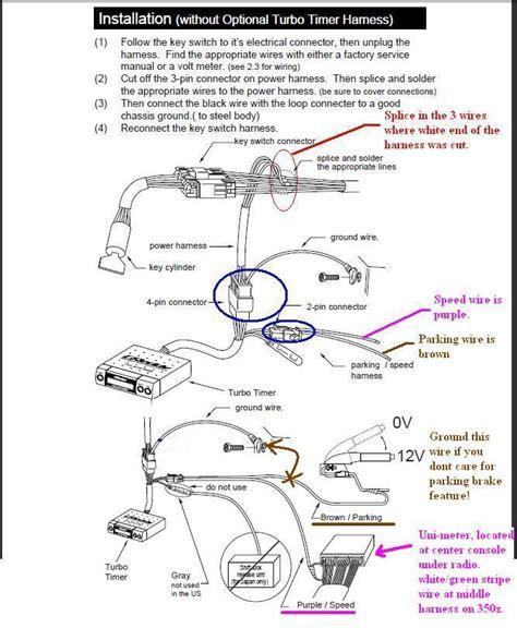 greddy turbo timer wiring diagram 33 wiring diagram