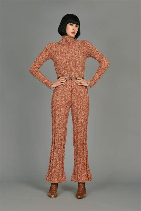 knitted jumpsuit cable knit wool jumpsuit bustown modern