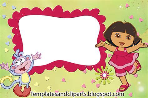 templates cliparts   dora  explorer frame