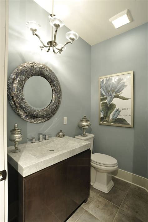 Small Bathroom Paint Color Ideas Wall Color Try Magnetc Grey 7058 Sherwin Williamswall Colors Powder Room Bathroom Colors