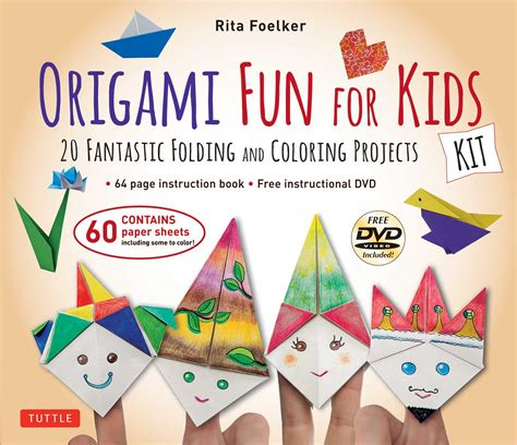 Easy Origami Book - origami for kit book summary official