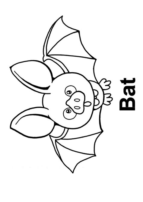 cute baby bat coloring page  printable coloring