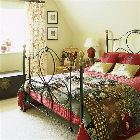 Country Bedrooms | new home interior design stylish country bedroom